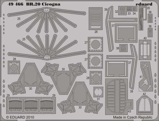 BR.20 Cicogna S.A. 1/48