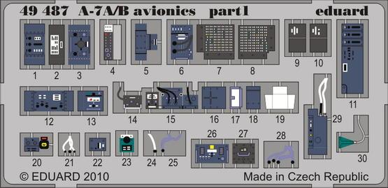 A-7A/B 電子機器 1/48  - 1