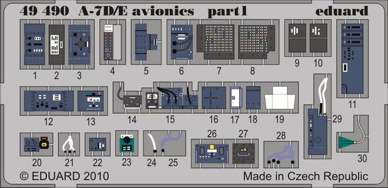 A-7D/E авионика 1/48  - 1