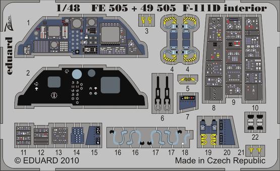 F-111D interior S.A. 1/48  - 1