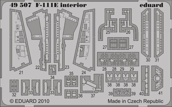 F-111E interior S.A. 1/48