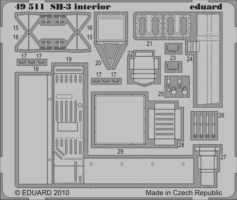 SH-3 interior S.A. 1/48