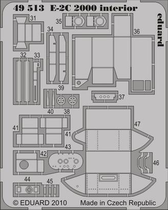 E-2C 2000 interior S.A. 1/48