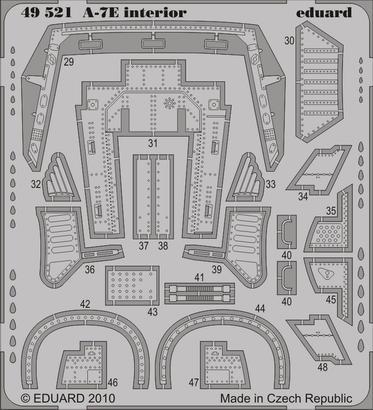 A-7E interior S.A. 1/48