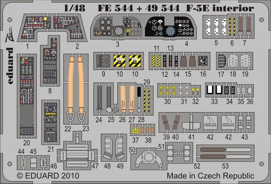 F-5E S.A. 1/48  - 1