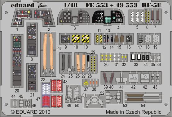 RF-5E S.A. 1/48  - 1