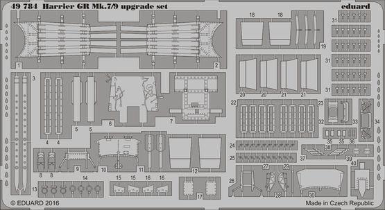 ハリアーGR Mk.7/9 アップグレードセット 1/48