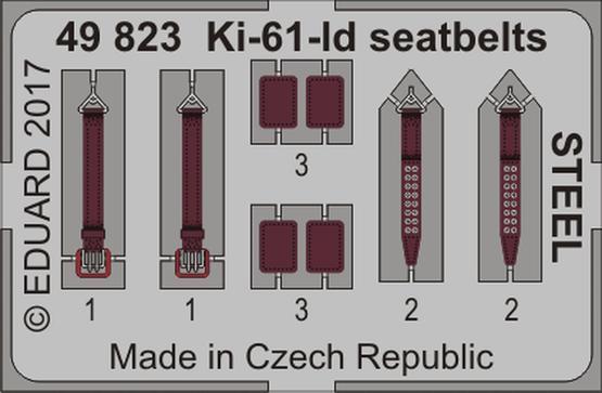 Ki-61-Id seatbelts STEEL 1/48