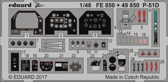 P-51D интерьер 1/48  - 1