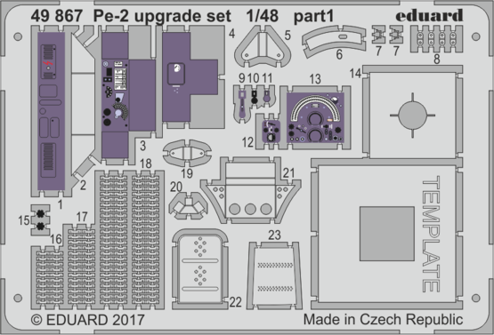 Pe-2 upgrade set 1/48  - 1