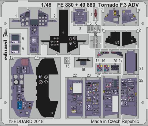 Tornado F.3 ADV interior 1/48  - 1