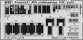 Tornado F.3 ADV undercarriage 1/48 - 1/2
