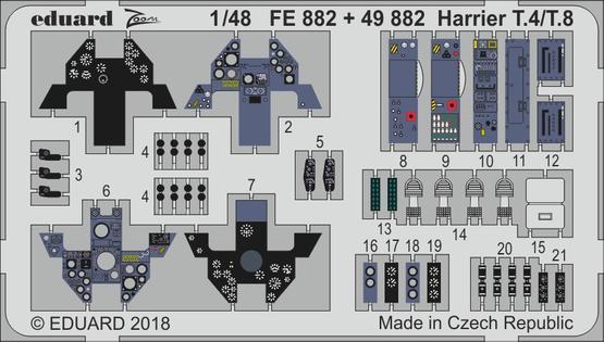 Harrier T.4/T.8 1/48  - 1