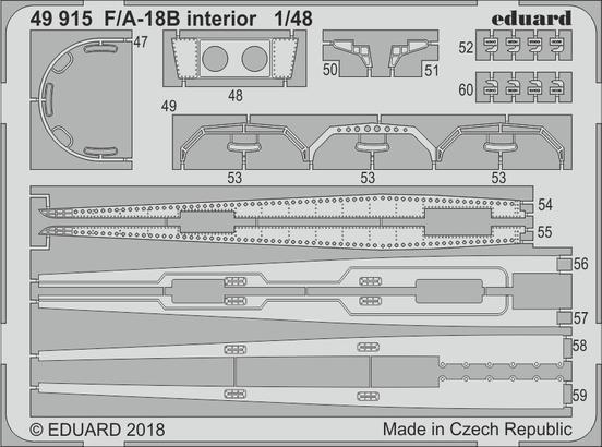 F/A-18B interior 1/48  - 1