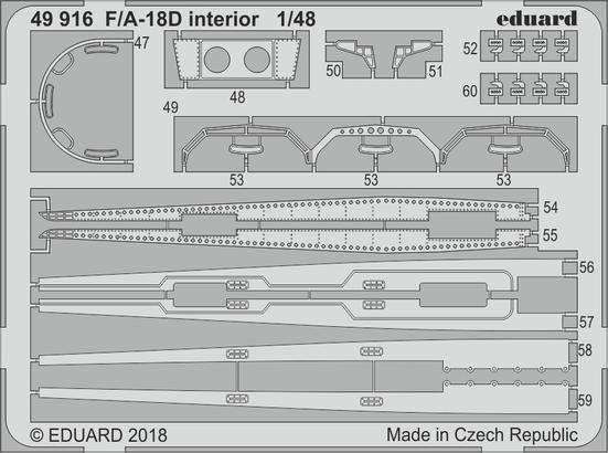 F/A-18D interior 1/48  - 1