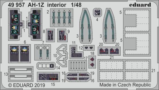 AH-1Z interior 1/48