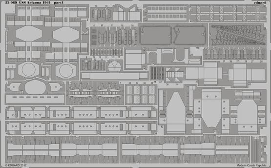 USS Arizona 1941 1/350  - 1