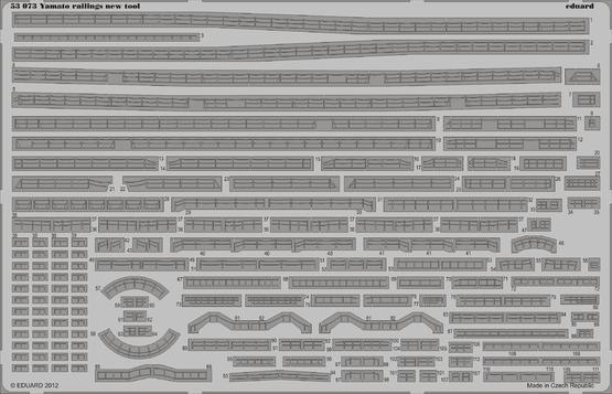 Yamato railings - new tool 1/350