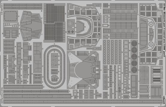 Bismarck part 4 - central area 1/200  - 1