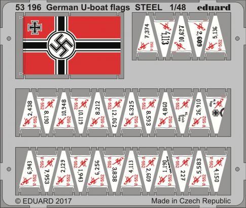 German U-boat vlajky 1/48