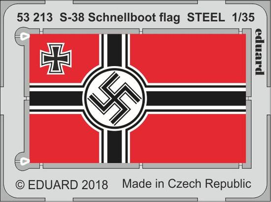 S-38 Schnellboot flag STEEL 1/35
