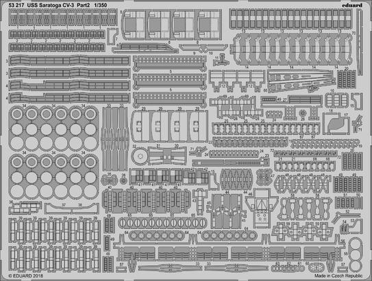 USS Saratoga CV-3 pt.2 1/350