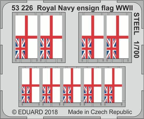ロイヤルネイビー 軍艦旗 WWII スチール 1/700