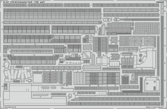CVN-65 エンタープライズ パート5 1/350  - 1