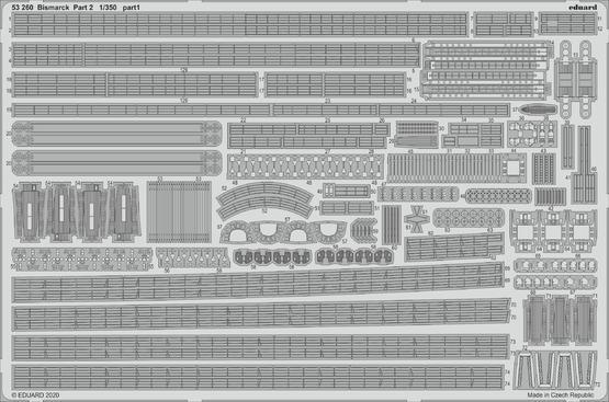 Bismarck part 2 1/350  - 1