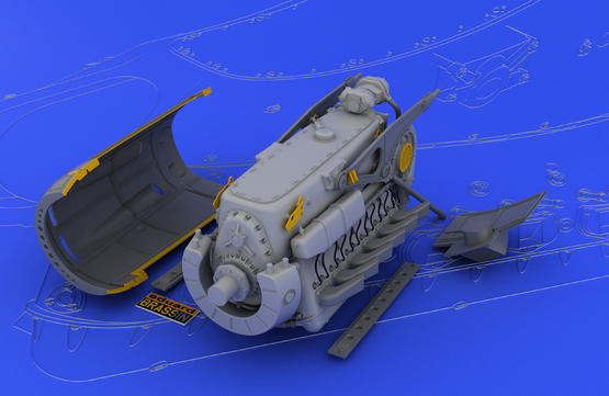 DB 601A/N engine  1/32 1/32  - 1