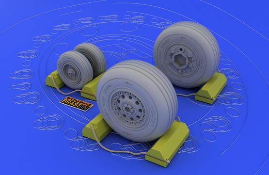 F-4J/S wheels 1/32  - 1