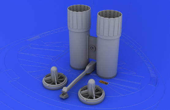 F-4 exhaust nozzles USAF late  1/32 1/32  - 1