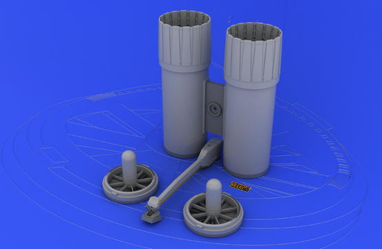 F-4 exhaust nozzles USN late 1/32  - 1