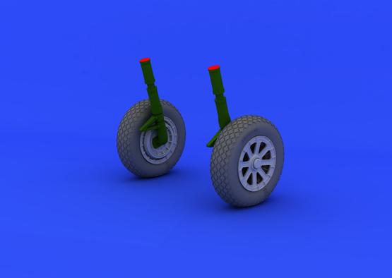 F4U-1 wheels 1/32  - 1