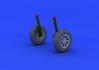 F4U-1 wheels 1/32 - 1/5