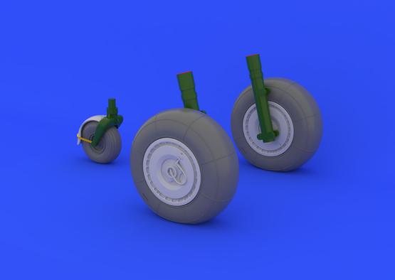 Ju 88 wheels late 1/32  - 1