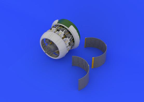 F4U-1 двигатель 1/32  - 1