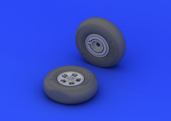 Spitfire Mk.I/II wheels 1/32  - 1