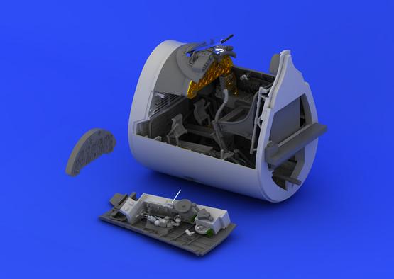 F4U-1 クックピット 1/32  - 1