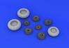 Do 335B wheels 1/32 - 1/4
