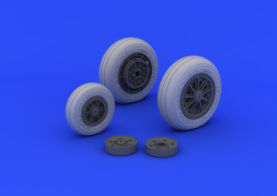 F-104 undercarriage wheels late 1/32  - 1