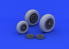 F-104 undercarriage wheels late 1/32 - 1/4