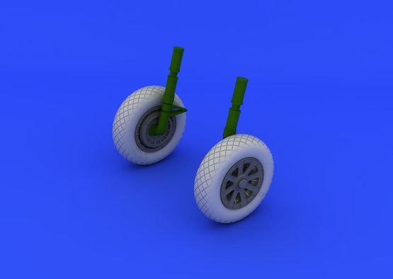 F4U-1 wheels diamond pattern 1/32  - 1