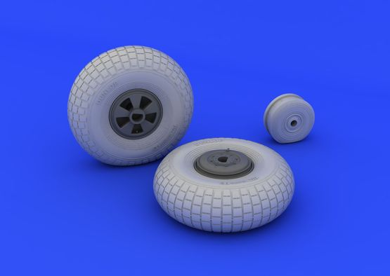 Mosquito FB Mk.IV wheels 1/32  - 1