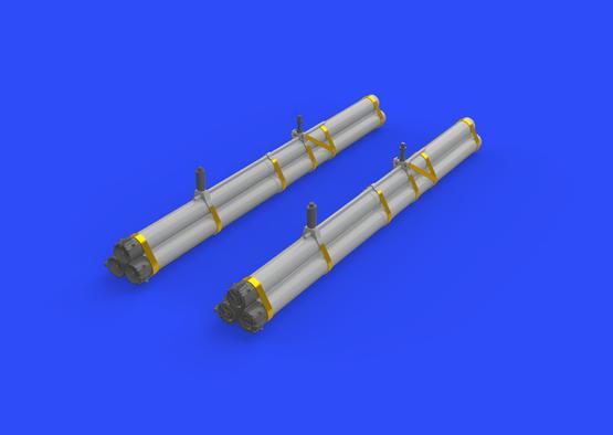 Bazooka rocket launchers for P-47 1/32  - 1