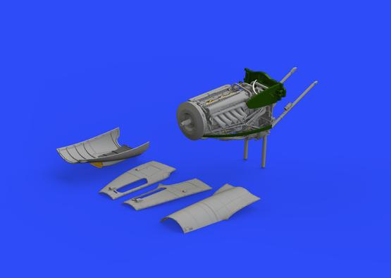 Mosquito FB Mk.VI pravý motor 1/32  - 1