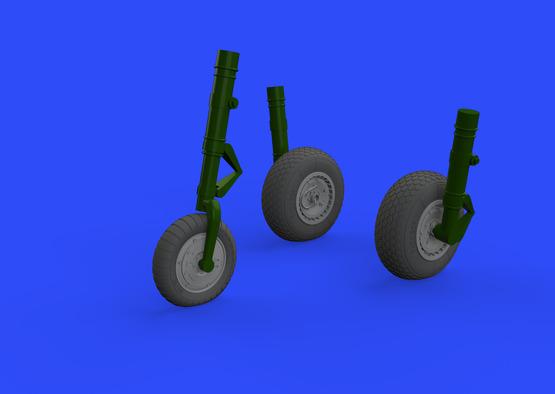 Me 262 wheels 1/32  - 1