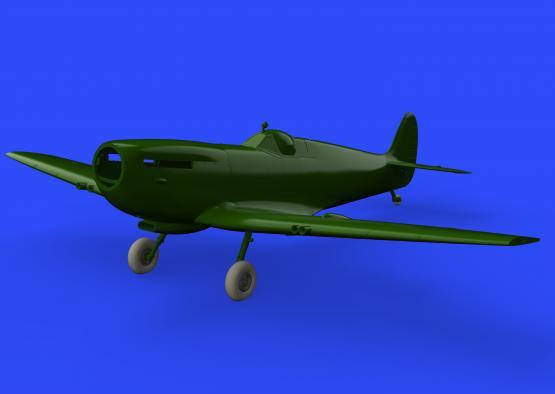 Spitfire Mk.IX колёса - 4-спицевые 1/32  - 1