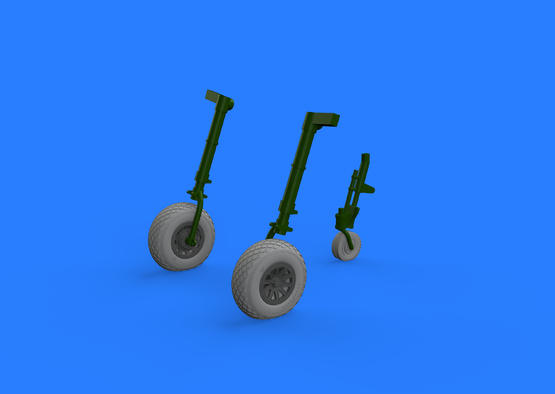 P-51D wheels 1/32  - 1