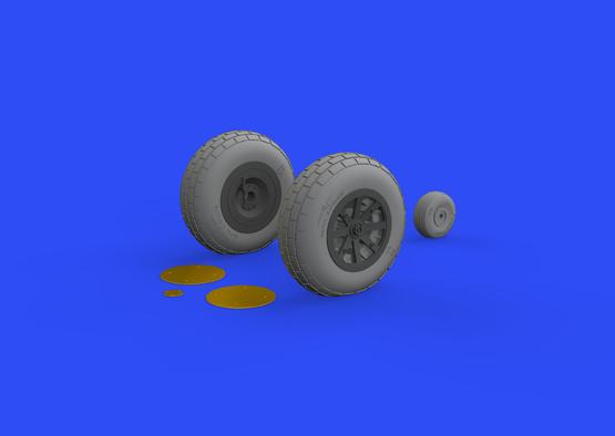 P-40N wheels 1/32  - 1